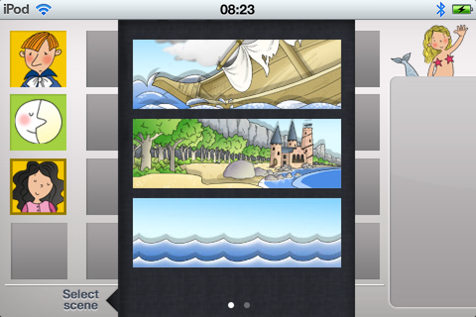 Screenshot Remote The Triplets and The Little Mermaid